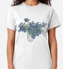 Classical Art - Vincent Van Gogh Irises Painting Classic T-Shirt