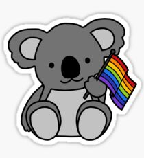 Gay Koala - Gay Pride  Sticker