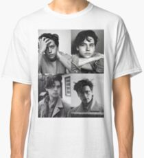 Cole Sprouse Collage B&W Classic T-Shirt