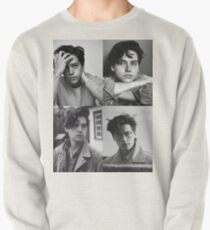 Cole Sprouse Collage B&W Pullover