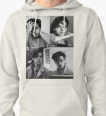 Cole Sprouse Collage B&W Pullover Hoodie