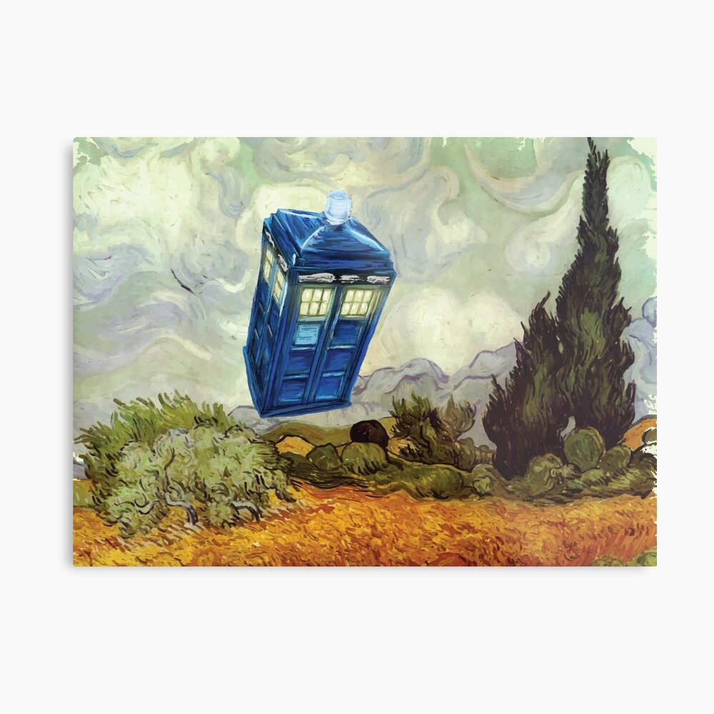 Vincent and the Doctor Metal Print