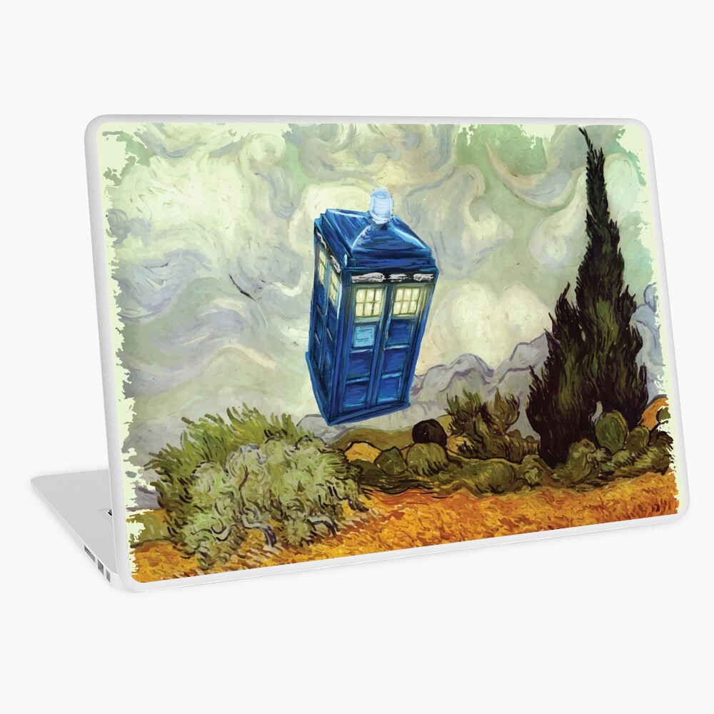 Vincent and the Doctor Laptop Skin