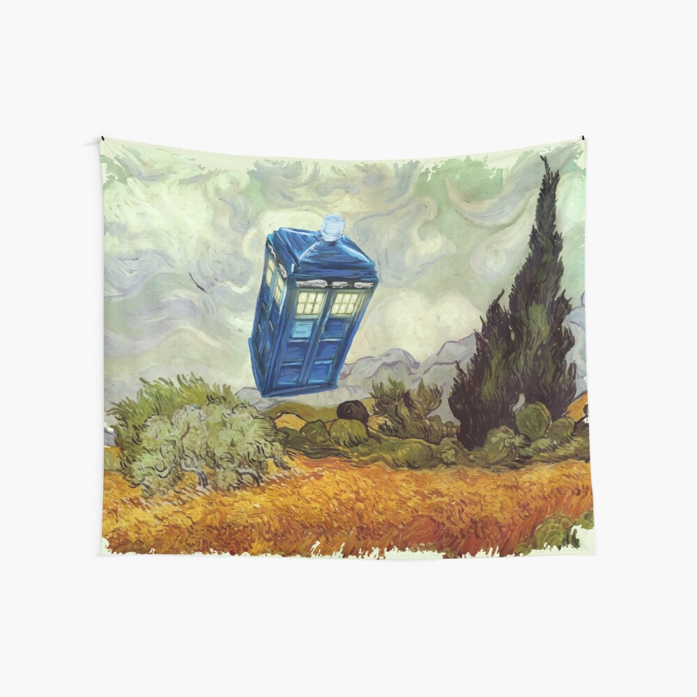 Vincent and the Doctor Wall Tapestry