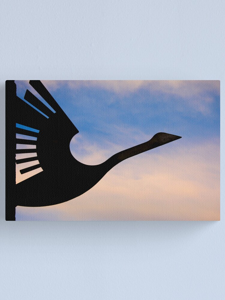 Alternate view of Wanting to take flight Canvas Print