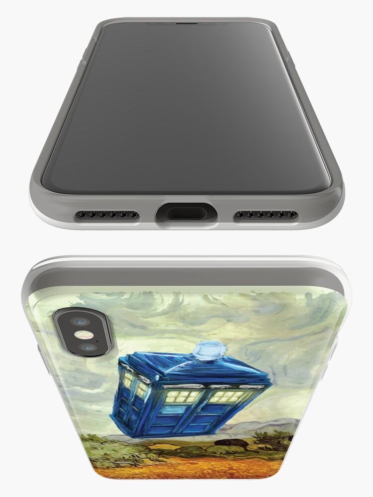 Alternative Ansicht von Vincent und der Doktor iPhone-Hüllen & Cover
