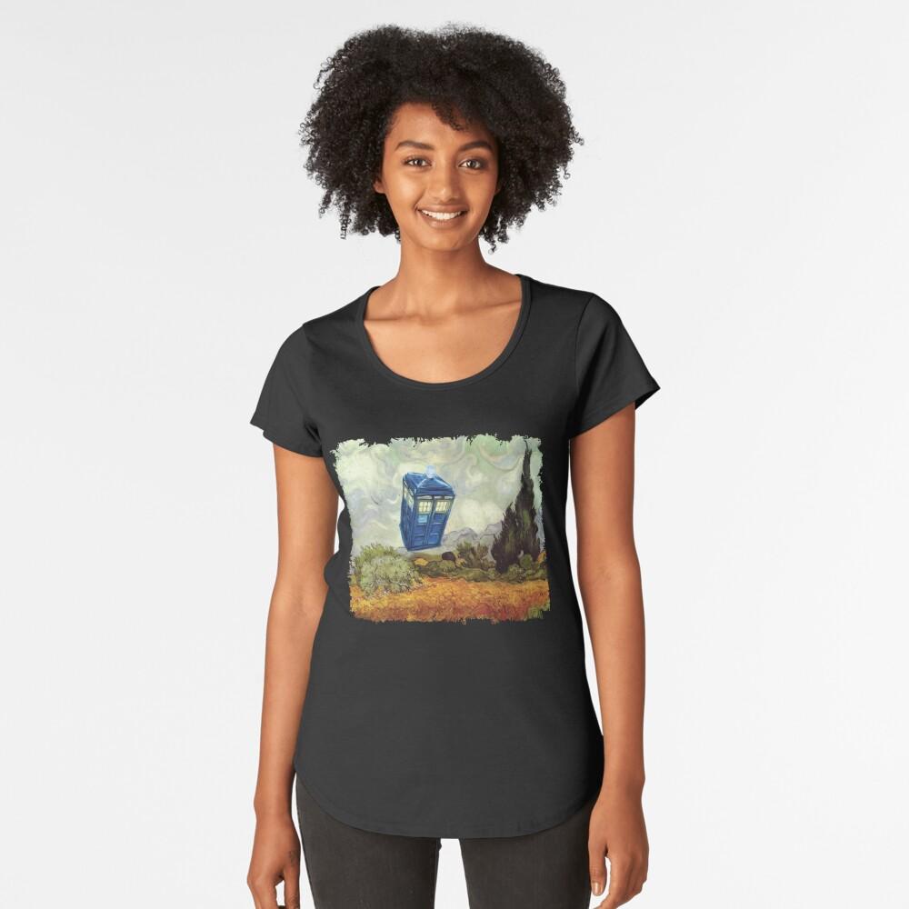 Vincent und der Doktor Premium Rundhals-Shirt
