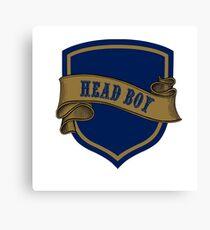Blue Bronze Badge  Canvas Print