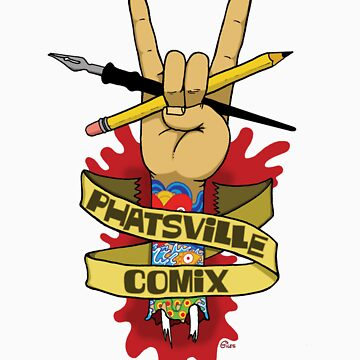Phatsville Comix logo by FatAnkle