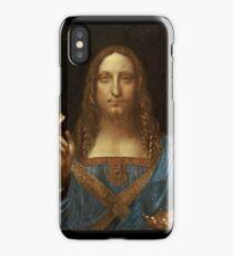 Da Vinci Salvator Mundi iPhone Case/Skin