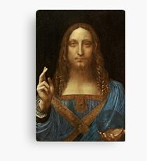 Da Vinci Salvator Mundi Canvas Print