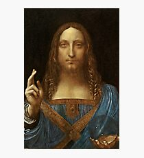 Da Vinci Salvator Mundi Photographic Print
