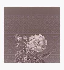 Flower - Argyle 2 Photographic Print