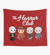 The Horror Club Wall Tapestry