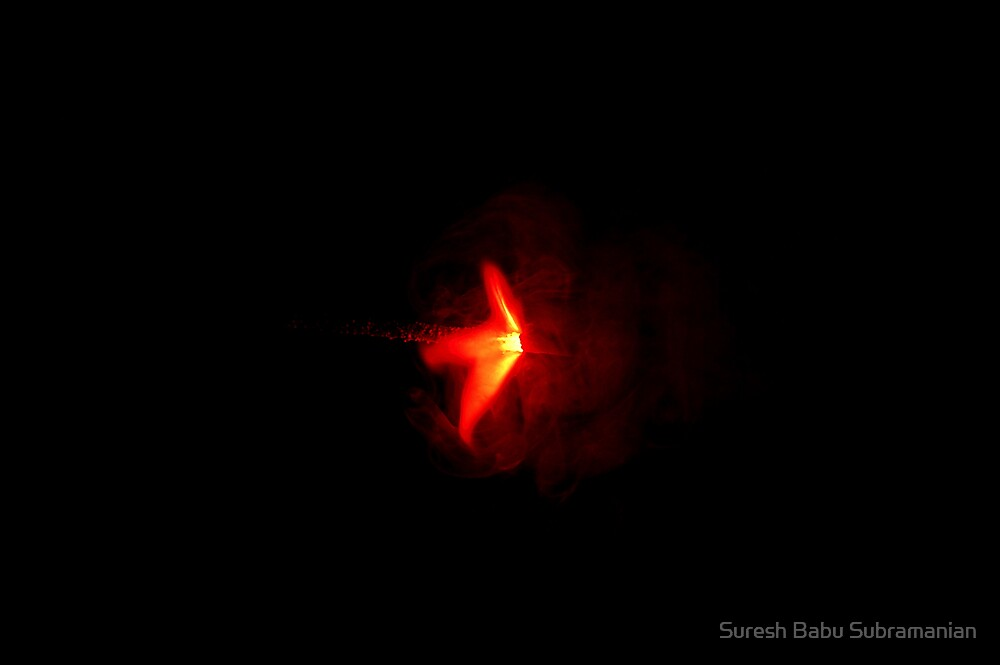 Diwali Celebration : Sparkler or Kambi Mattappu  by Suresh Babu Subramanian
