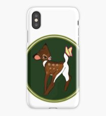 Bambi & Butterfly  iPhone Case/Skin