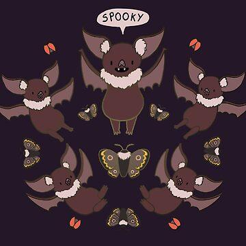 Some Spooky Bats  by domogatcha