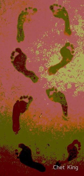 Happy Feet by Chet  King