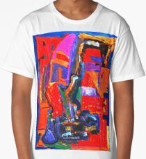 Metropolis oil on canvas Long T-Shirt
