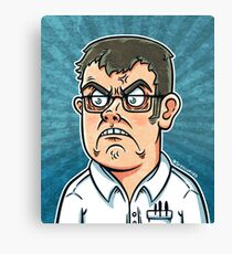 SrEscuerzo Angry Video Game Nerd Canvas Print