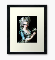 Madame Déficit Framed Print