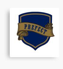 Blue Bronze Badge 3 Canvas Print