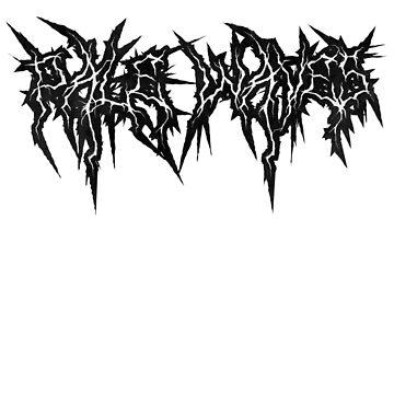 Pale Waves - Black Metal Logo by jj523