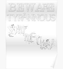 Beware Tyrannous Symmetry WT 01 Poster