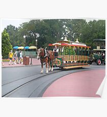 Main Street Trolley Poster
