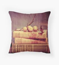 Light Reading Throw Pillow