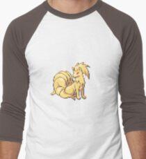 Fire fox Men's Baseball ¾ T-Shirt