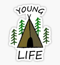 Young Life Tent Sticker