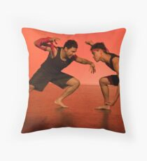 Antagonists Throw Pillow