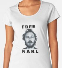 Free Karl Merchandise Women's Premium T-Shirt