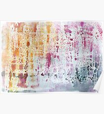 Abstract Contemporary Watercolor Poster