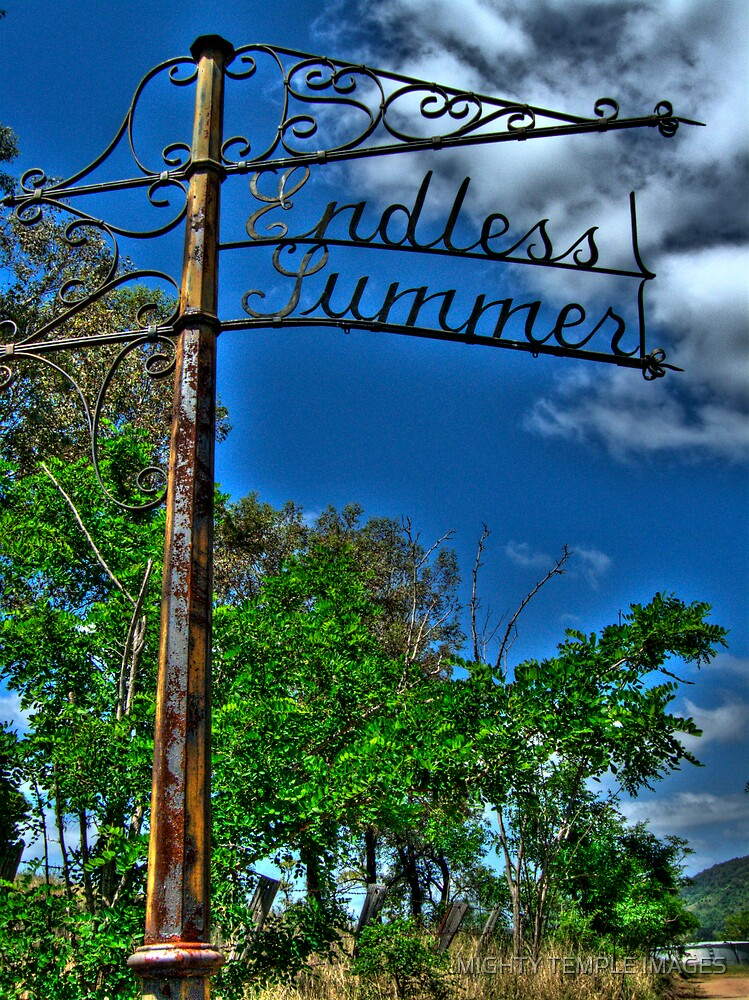 The Endless Summer by MIGHTY TEMPLE IMAGES