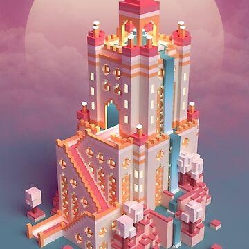 Pink Castel by FranceMSX