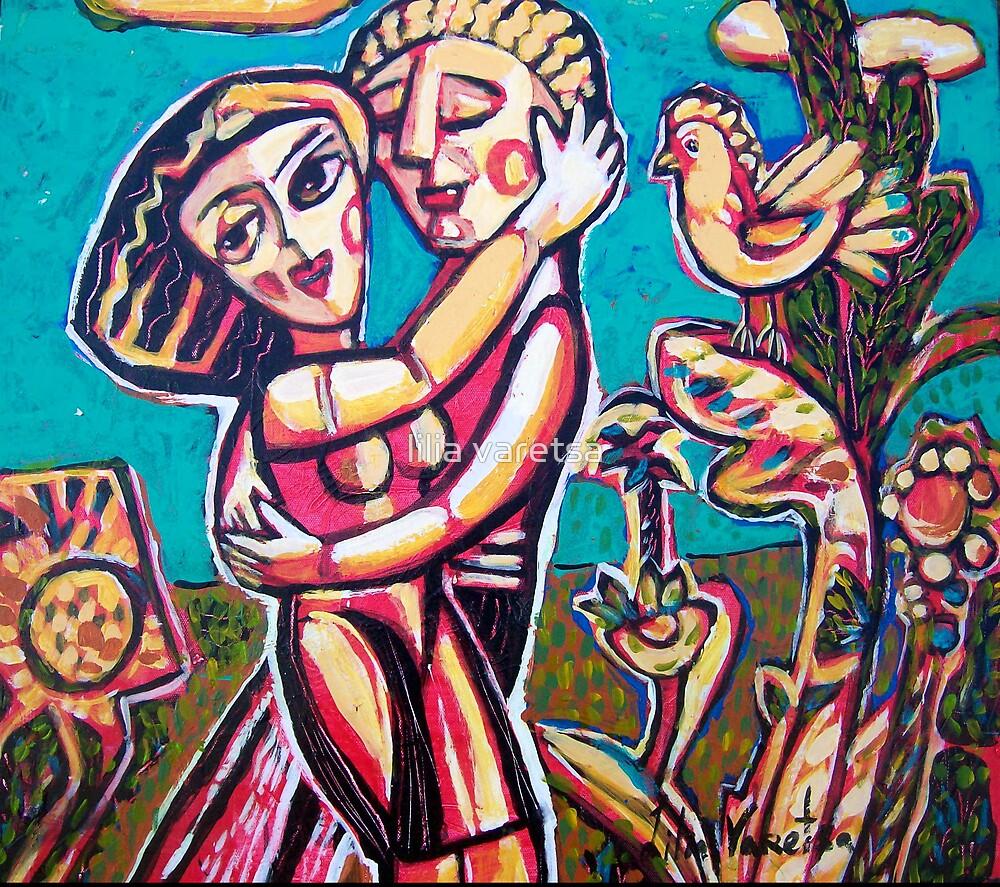 Secret Happiness by lilia varetsa