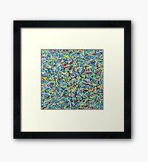 The Chemical Darted (cmyk) Framed Print