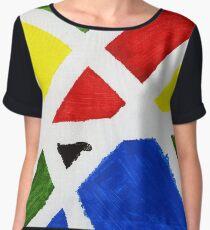 Mondrian Women's Chiffon Top