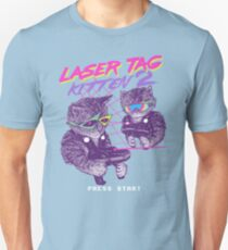 Laser Tag Kitten 2 T-Shirt