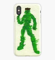 The Green Superhero iPhone Case