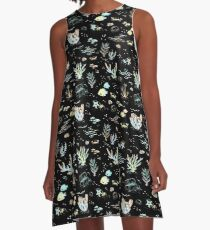 Deep Sea Rainbow A-Line Dress
