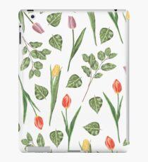 Tulips garden iPad Case/Skin
