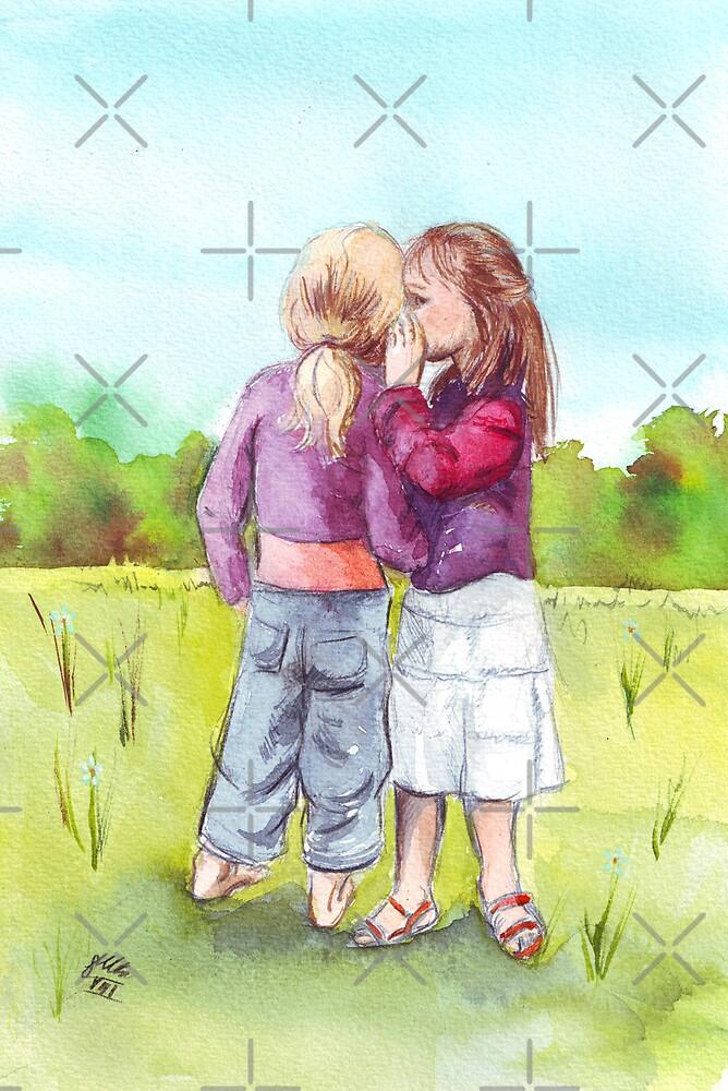 «Negocio secreto de las muchachas» de Sarah  Mac Illustration