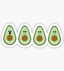 Avocado-motions Sticker