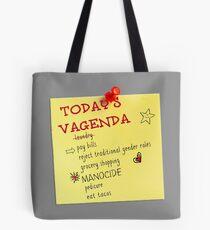 Today's Vagenda Tote Bag