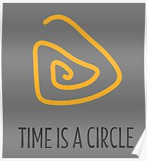 Time is a Circle Poster