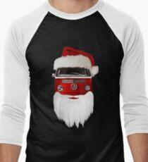 VW Santa Claus - black background T-Shirt