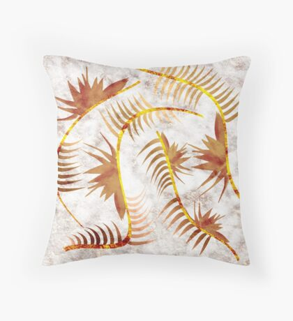Marble Copper's Flow Throw Pillow